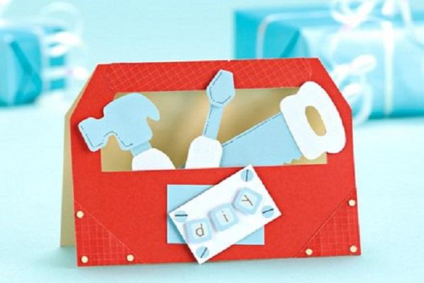 Открытки из картона для дедушки на день рождения