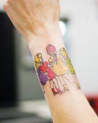Tattoo Vir Meisies Op Die Pols
